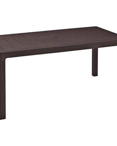 Stôl Melody hnedý 74x94x160