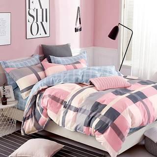 Bavlnená saténová posteľná bielizeň ALBS-0911B 200X220