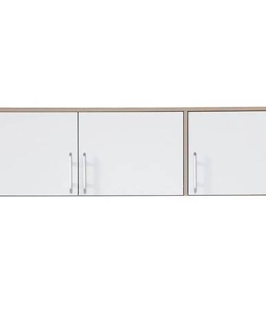 Nadstavec na skriňu Smart SRN2 150 cm dub sonoma/biela