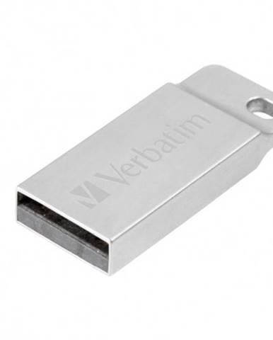 VERBATIM Store 'n' Go Metal Executive 16GB USB 2.0 strieborný