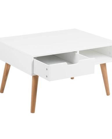 Biely konferenčný stolík Actona Mitra, 80×45,5 cm