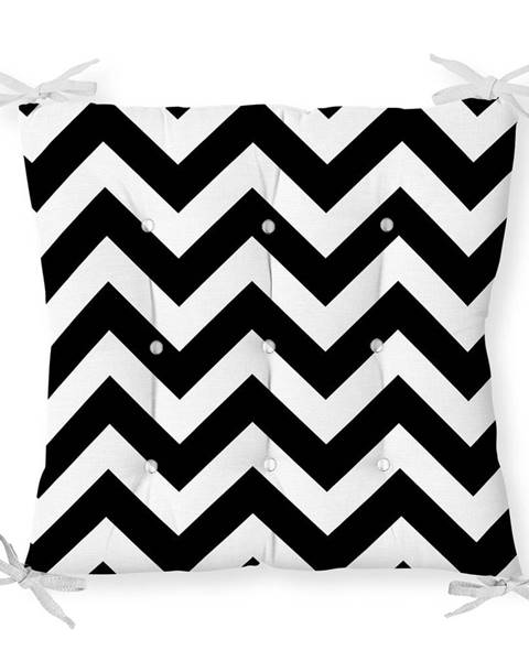 Minimalist Cushion Covers Sedák na stoličku Minimalist Cushion Covers Zigzag, 40 x 40 cm