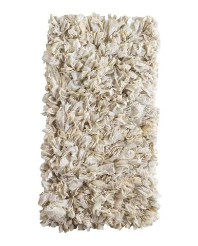 Krémový koberec Geese Fluffy, 120×60 cm