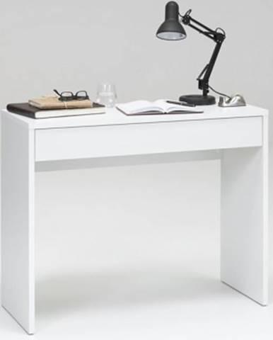 Písací/kozmetický stôl Checker, biely%