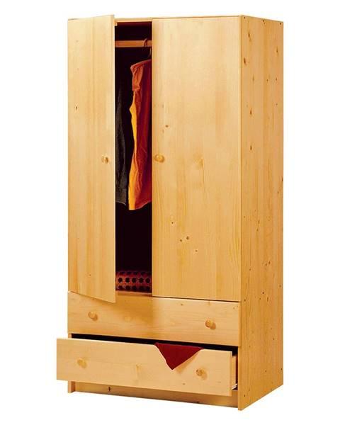 IDEA Nábytok Skriňa s 2 zásuvkami 865 lakovaná