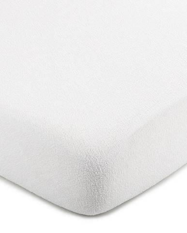 4Home froté prestieradlo biela, 220 x 200 cm