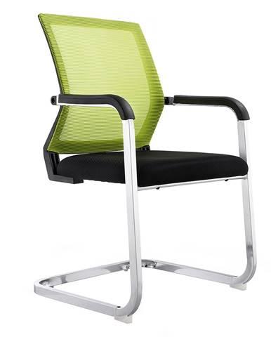 Zasadacia stolička zelená/čierna RIMALA