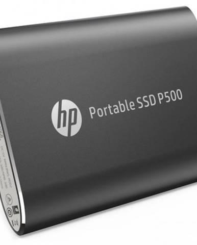 SSD disk HP P500 500GB / Externý / USB Type-C / čierny