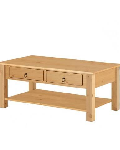Prírodné konferenčný stolík z borovicového dreva Støraa Inda