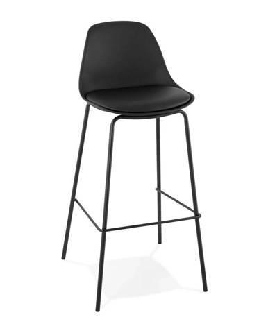 Čierna barová stolička Kokoon Escal
