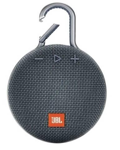 Bluetooth reproduktor JBL Clip 3, modrý