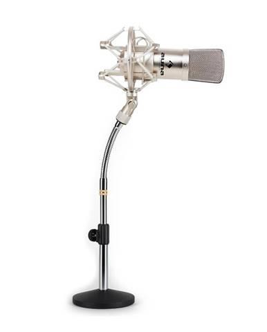 Auna Set študiového mikrofónu a stojanu na mikrofón