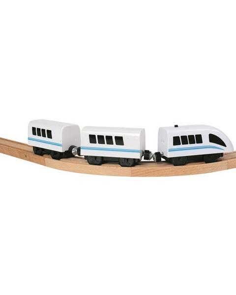 Bino Bino Vysokorýchlostný vlak na batérie, 35 cm