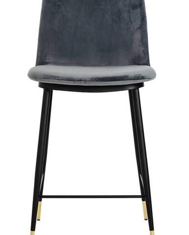 ArtKing Barová stolička  DIEGO 65 tmavo-sivá