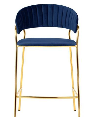 ArtKing Barová stolička MARGO 65 tmavo-modrá