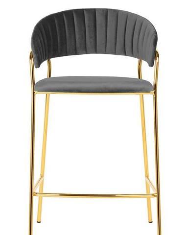 ArtKing Barová stolička MARGO 65 tmavo-sivá