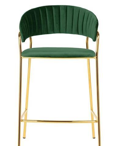 ArtKing Barová stolička MARGO 65 tmavo-zelená