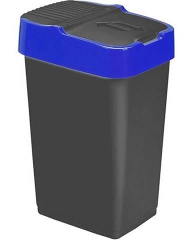 Plastový kôš na odpadky HEIDRUN 18l