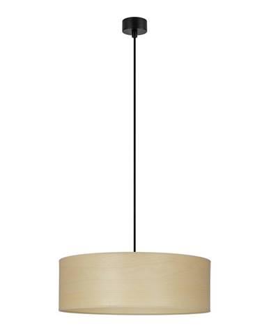 Svetlohnedé závesné svietidlo Sotto Luce Tsuri, ⌀ 45 cm