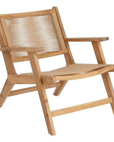 Záhradná skladacia stolička z akáciového dreva La Forma Geralda
