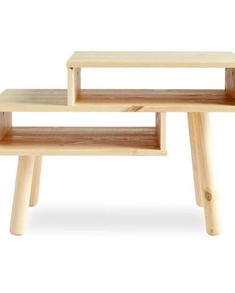 Karup Design Konferenčný stolík z borovicového dreva v prírodnej farbe Karup Design Haku