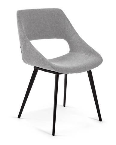 Jedálenská stolička vo svetlosivej farbe La Forma Hest