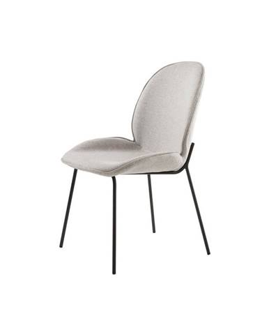 Sivá jedálenská stolička Canett Hella