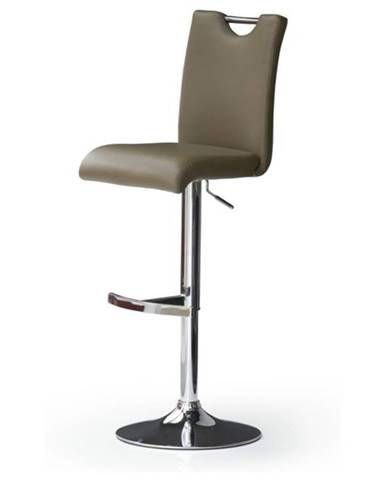 Barová stolička HAILEY capuccino/koženka