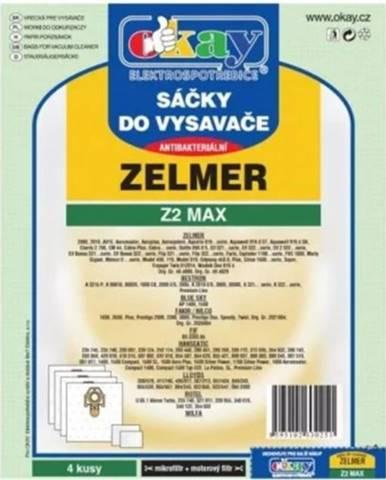 Vrecká do vysávača Zelmer Z2MAX, 4ks