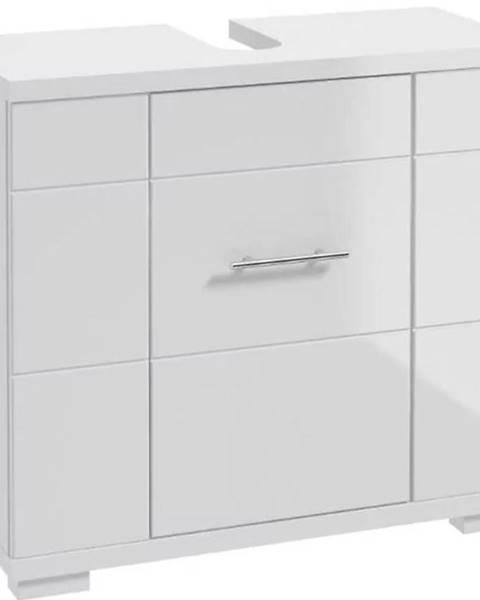 MERKURY MARKET Kúpeľňová skrinka Bari D70 1D0S DSM biela