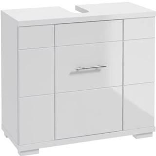 Kúpeľňová skrinka Bari D70 1D0S DSM biela