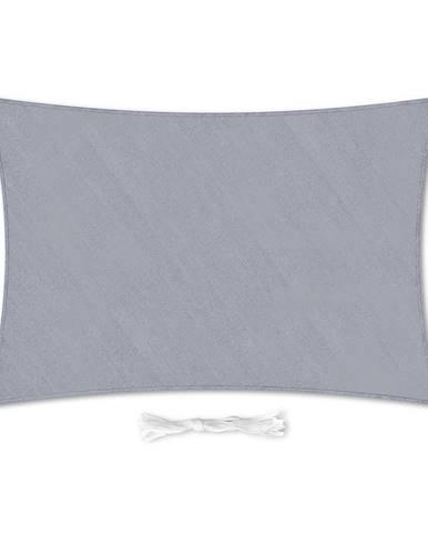 Blumfeldt Obdĺžniková slnečná clona, 5 × 7 m, s upevňovacími krúžkami, polyester, priedušná