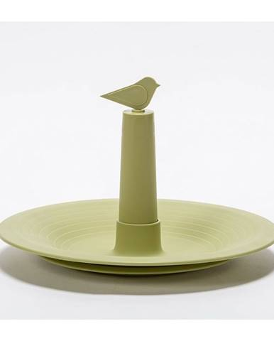 Plastia Pítko pro vtáky Finch, olivová