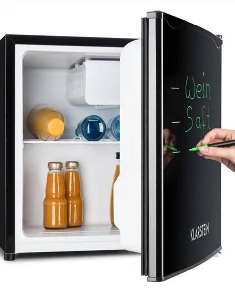 Klarstein Klarstein Spitzbergen Aca, 40 l, čierna, chladnička s mrazničkou, energetická trieda A+