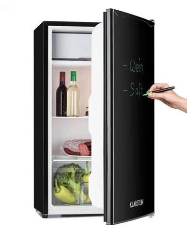 Klarstein Spitzbergen Uni, 90 l, čierna, chladnička s mrazničkou, energetická trieda A+