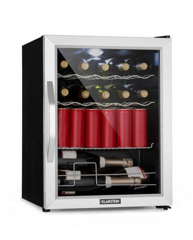 Klarstein Beersafe XL Mix It Edition, chladnička, A++, LED, 4 kovové rošty, sklenené dvere