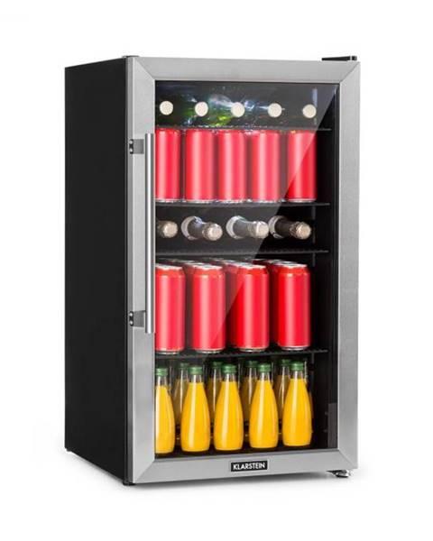 Klarstein Klarstein Beersafe 3XL, chladnička, 98 l, 4 zásuvné police, 7 úrovní, čierna