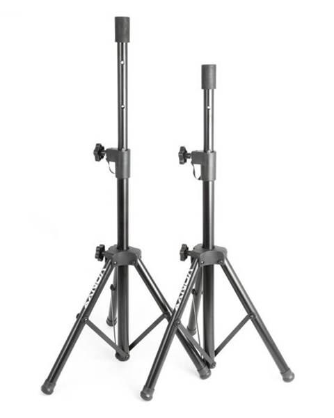 Vonyx Vonyx PA reproduktorový statív-pár 2 x reproduktorový stojan príruba 69-135 cm čierna farba
