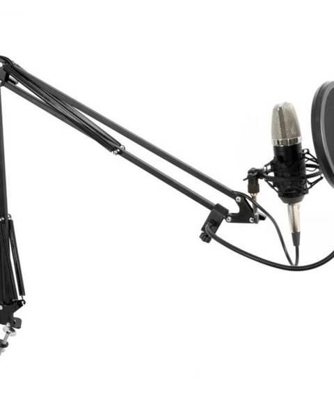 Vonyx Vonyx Studio Set veľkomembránový mikrofón vrátane ramena, pavúka, protiveternej ochrany, kábla