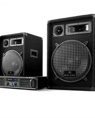 Electronic-Star DJ PA set Marakesh Lounge, repro, zosilňovač