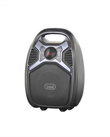 Trevi XF 500, 25 W, čierny, aktívny bluetooth reproduktor, prenosný, batéria, MP3, SD, USB, FM