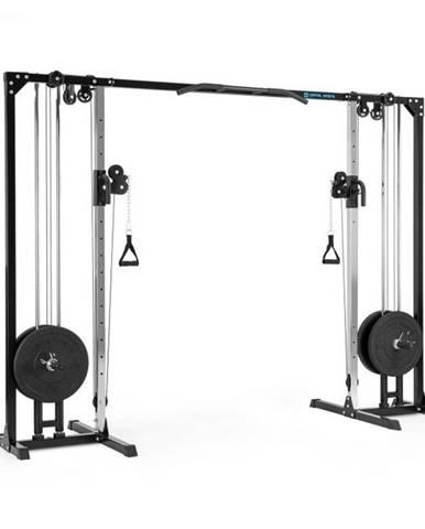 Capital Sports Cable Power, posilňovací kladkový stojan, oceľ, 30/50 mm, čierny