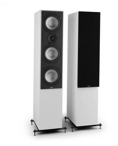 Numan Reference 801c,trojcestný stojaci reproduktor, pár, biela farba vrátane čiernych krytov