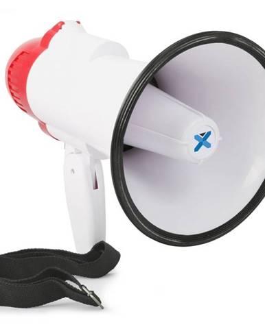 Vexus MEG020, megafón, 20 W, funkcia nahrávania, siréna, prevádzka na batérie, popruh