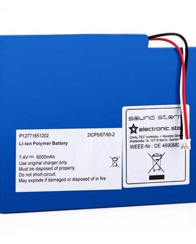 Auna CS8, dodatočný akumulátor pre boombox Soundstorm, lítiovo-polymérový akumulátor