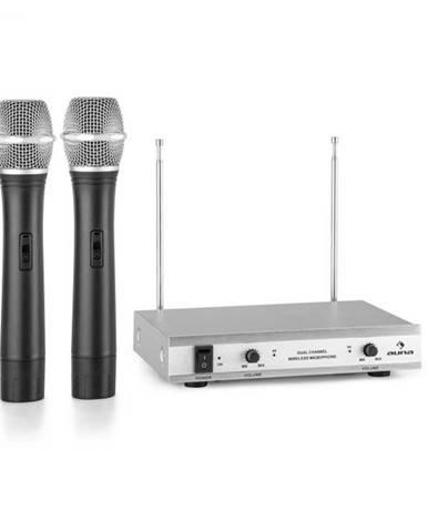 Auna Pro VHF-2-H 2-kanálová VHF mikrofónová sada 2x ručný mikrofón 50m