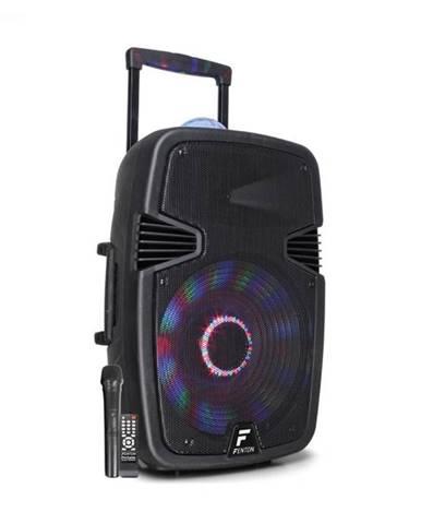 "Fenton FT15JB, aktívny reproduktor, 15"" woofer, 800 W, BT/USB/SD/AUX vstup, LED jellyball, mikrofón"