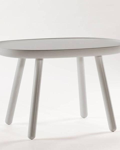 EMKO Sivý stolík z masívu EMKO Naïve, 61 x 41 cm