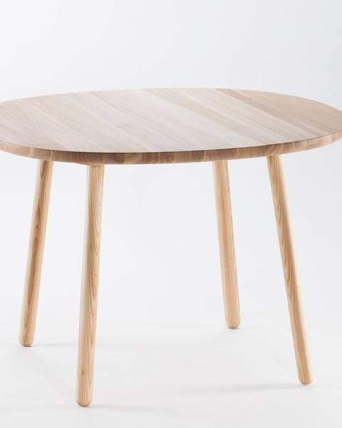EMKO Prírodný jedálenský stôl z masívu EMKO Naïve, ⌀ 110 cm