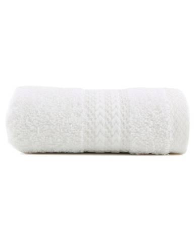 Biely uterák z čistej bavlny Sunny, 30×50cm